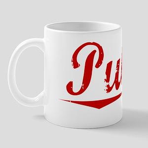 Pulley, Vintage Red Mug