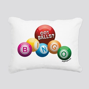 Got Balls? Rectangular Canvas Pillow