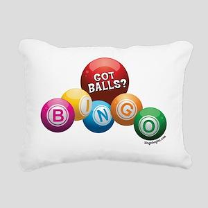 Got Balls? Rectangular Canvas Pillow
