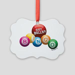 Got Balls? Picture Ornament