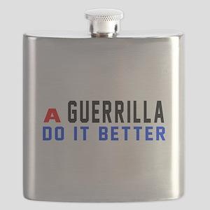 Guerrilla Do It Better Flask