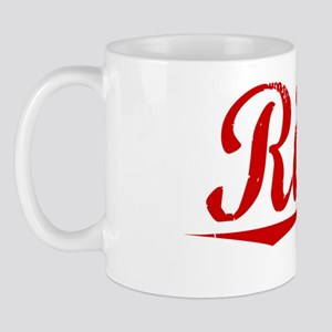 Riggs, Vintage Red Mug
