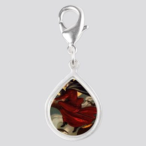 witches may be seen Silver Teardrop Charm