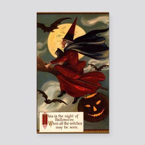 witches may be seen Rectangle Car Magnet
