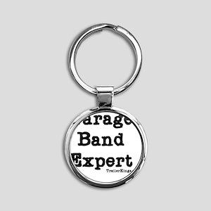 garage band expert 3 Round Keychain