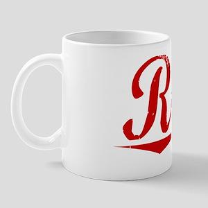 Rorie, Vintage Red Mug