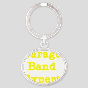 Garage band Expert 2 Oval Keychain