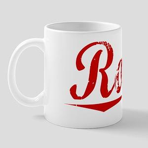 Rosso, Vintage Red Mug