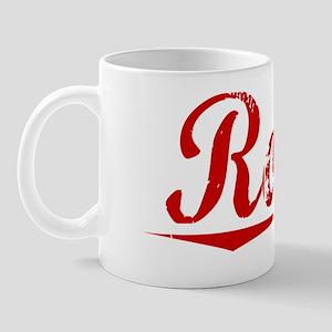 Rosin, Vintage Red Mug