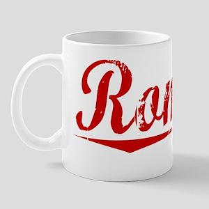 Romero, Vintage Red Mug