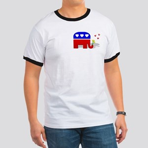 3b94e5776bd90a Elephant 3d T-Shirts - CafePress