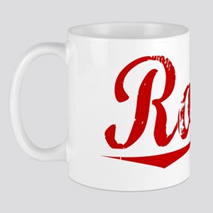 Roosa, Vintage Red Mug