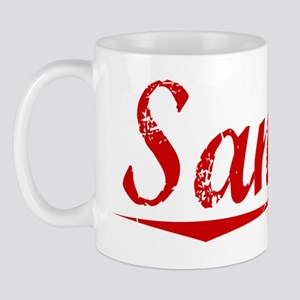 Sancho, Vintage Red Mug