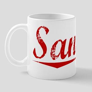 Sandler, Vintage Red Mug