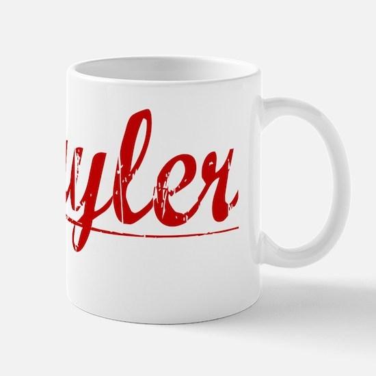 Schuyler, Vintage Red Mug