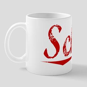 Schild, Vintage Red Mug