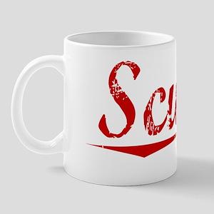 Scurry, Vintage Red Mug
