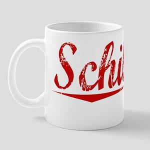 Schilling, Vintage Red Mug