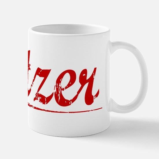 Setzer, Vintage Red Mug