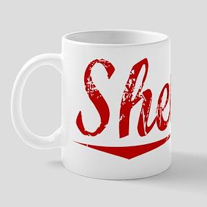 Shelton, Vintage Red Mug
