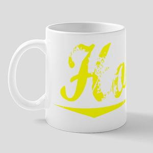 Holler, Yellow Mug
