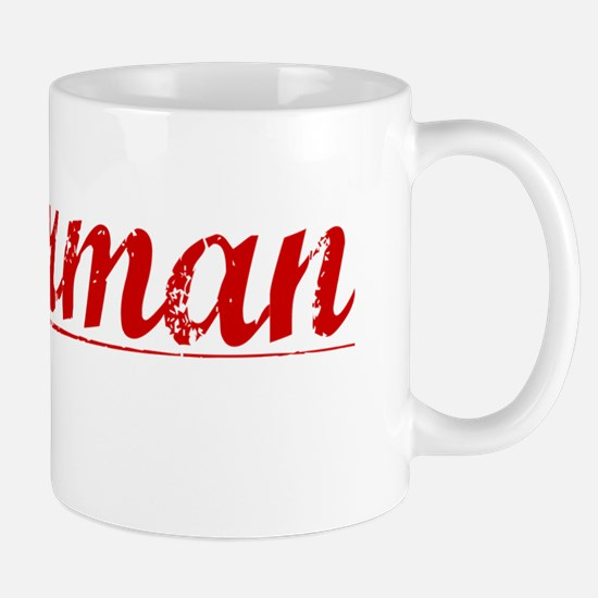 Silverman, Vintage Red Mug