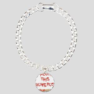 Found this humerus Charm Bracelet, One Charm