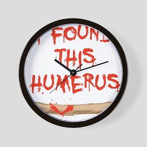 Found this humerus Wall Clock