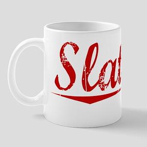 Slattery, Vintage Red Mug