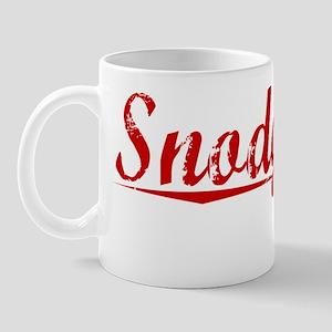 Snodgrass, Vintage Red Mug