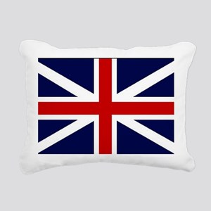 British Flag Rectangular Canvas Pillow