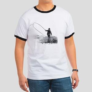 Fly Fishing Ringer T