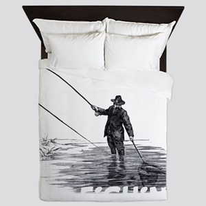 Fly Fishing Queen Duvet