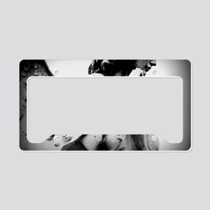 The Gothic Angel License Plate Holder