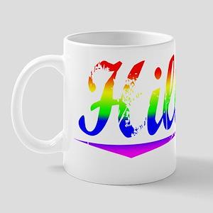 Hillery, Rainbow, Mug