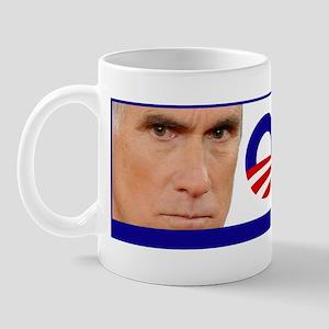 Mitt Romney (Face) O-Mitted Bumper Stic Mug