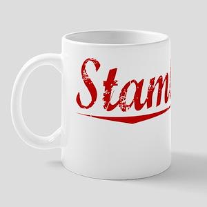 Stambaugh, Vintage Red Mug
