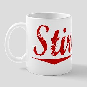 Stirling, Vintage Red Mug