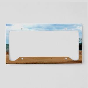 Lake Michigan Beach License Plate Holder