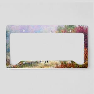 14 X 6 print License Plate Holder