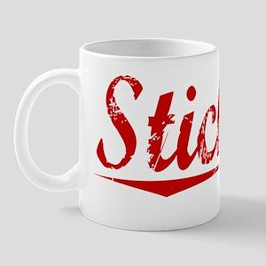 Stickley, Vintage Red Mug
