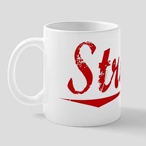 Strang, Vintage Red Mug
