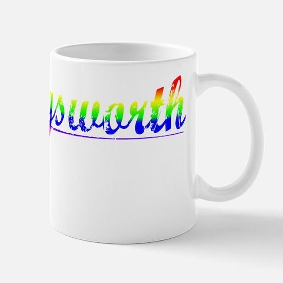 Hollingsworth, Rainbow, Mug