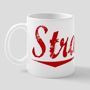 Strauss, Vintage Red Mug