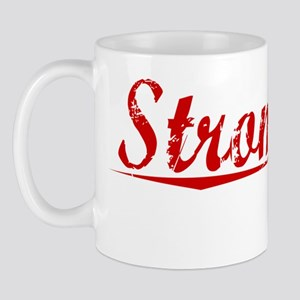 Stromberg, Vintage Red Mug