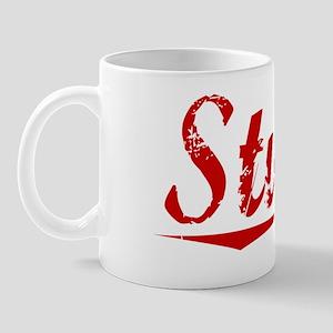 Stuart, Vintage Red Mug