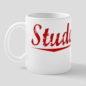 Studebaker, Vintage Red Mug