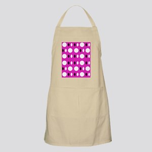 Pink Black Shapes Designer Apron