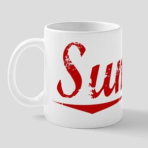Sumter, Vintage Red Mug