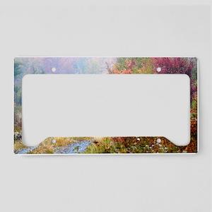 temp_laptop_skin License Plate Holder
